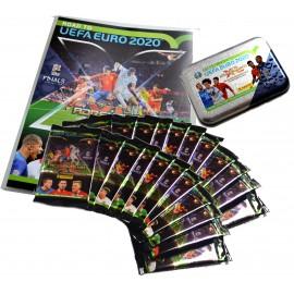 CESTA NA EURO 2020 - praktická sada pro sběratele