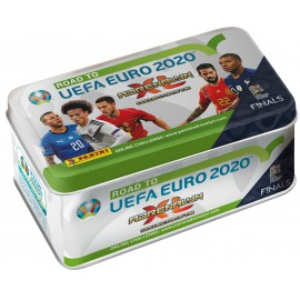 CESTA NA EURO 2020 - plechová krabička