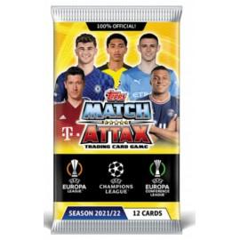 LIGA MISTRŮ 2021/22 - balíček 12 karet Match Attax