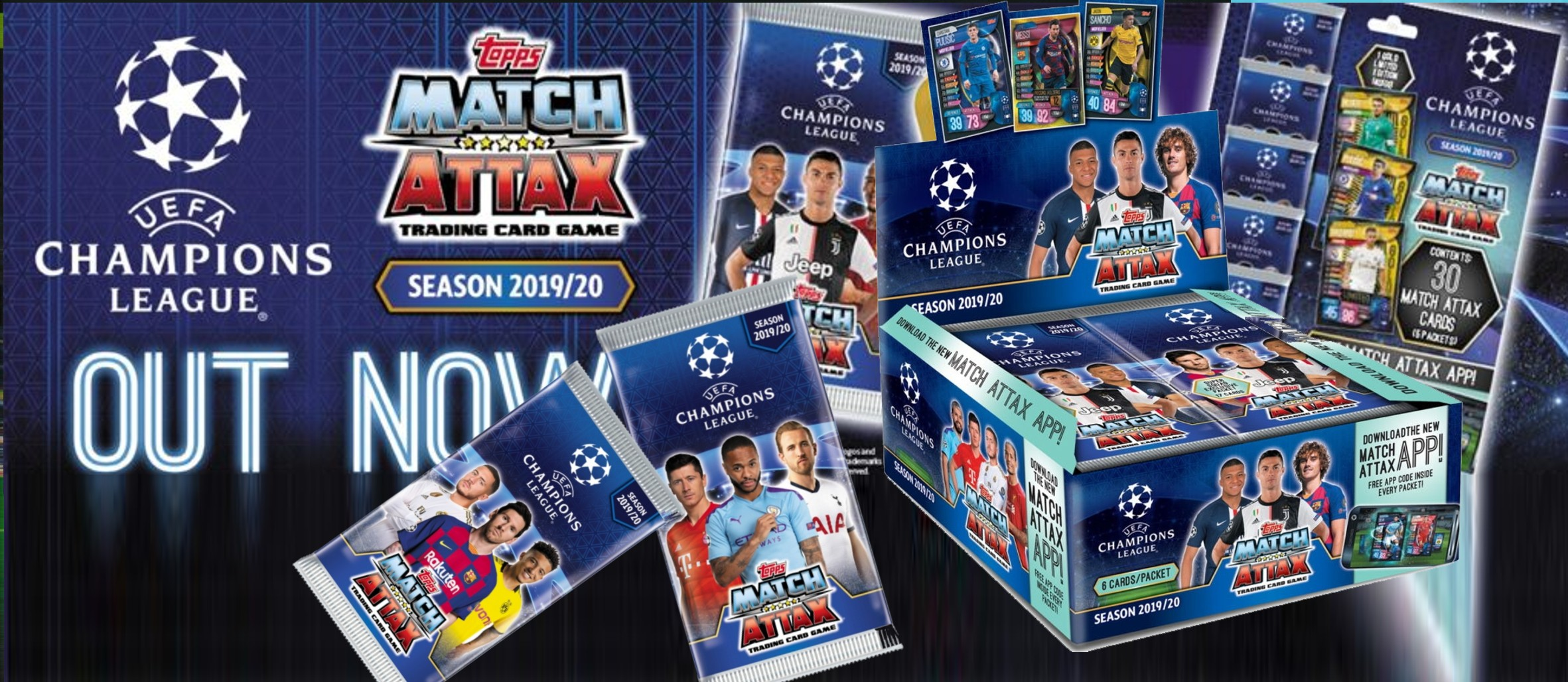 Match Attax Liga Mistrů 2019-20