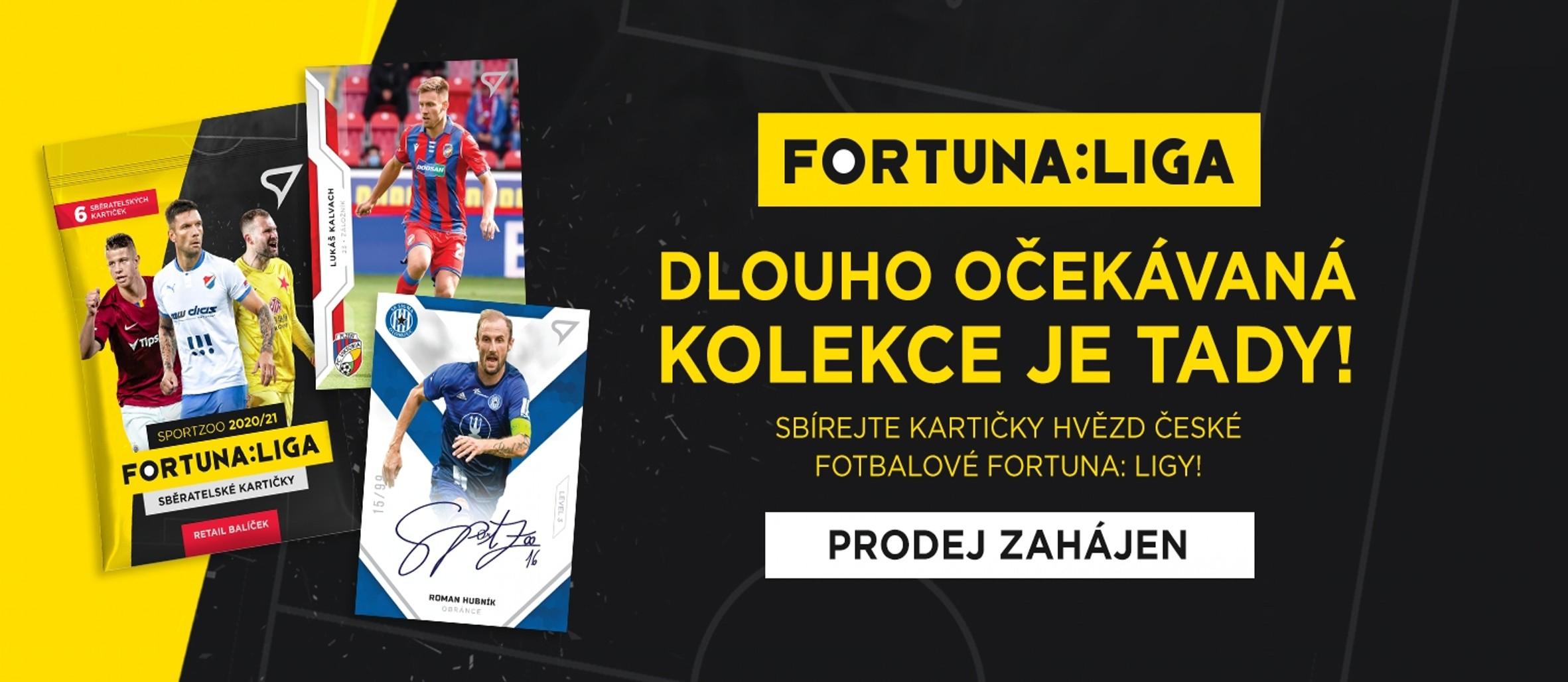 Fortuna Liga 2020-21 karty SportZoo